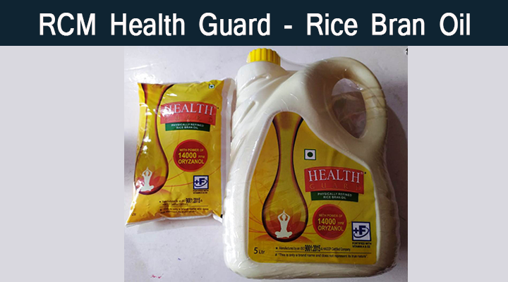 rcm health guard rice bran oil